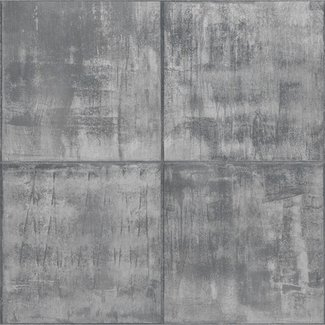 Dutch Wallcoverings Perspectives blokken grijs - PP3402