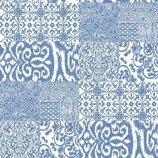Dutch Wallcoverings Verde 2 glass effect blue - VD219149
