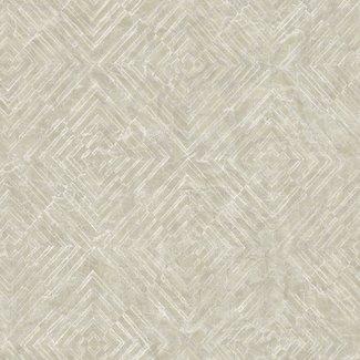 Dutch Wallcoverings Restored Labyrinth beige - 24001