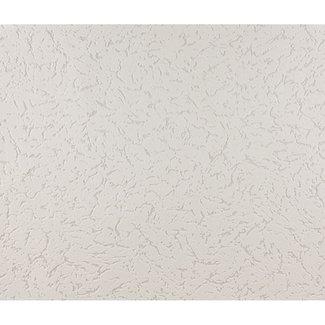 Dutch Wallcoverings Schuimvinyl wit met grijs - 2002-50
