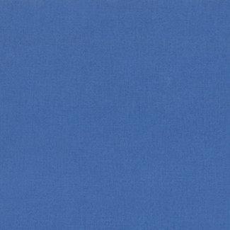 Dutch Wallcoverings Vliesbehang uni blauw - 371-01