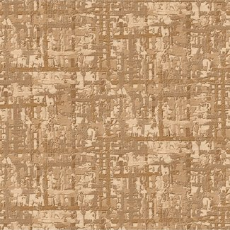 Dutch Wallcoverings Embellish fabric abstract gold - DE120094