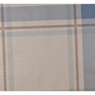 Dutch Wallcoverings Vlies ruit lichtblauw/wit - 7309-5