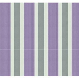 Dutch Wallcoverings Papier streep creme/lila - 1215-6