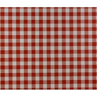 Dutch Wallcoverings Papier ruitje rood/wit - 1163-4