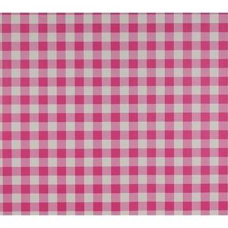 Dutch Wallcoverings Papier ruitje roze/wit - 1199-6
