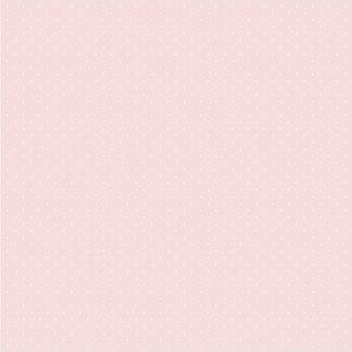 Dutch Wallcoverings Babies Dots roze/wit - 10152