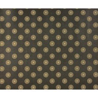 Dutch Wallcoverings Behang dessin zwart/beige - 1193-7