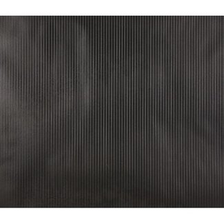 Dutch Wallcoverings Vliesbehang uni/streep zwart - 42026-70