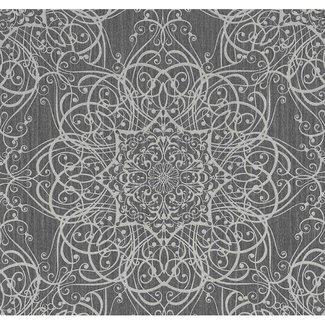 Dutch Wallcoverings Guido M.K. dessin zwart/zilver - 02465-10