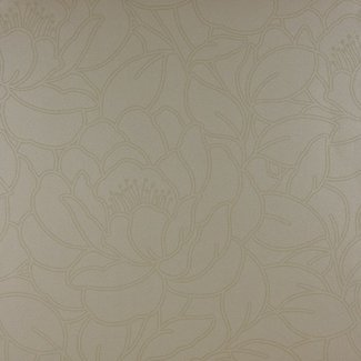 Dutch Wallcoverings Be Yourself bloem creme - 16037