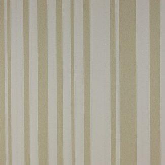 Dutch Wallcoverings Premium strepen beige/wit - 23971