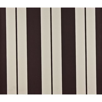 Dutch Wallcoverings Papier streep bruin/wit - 1176-2