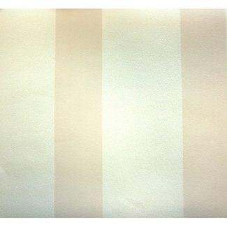 Dutch Wallcoverings Vliesbehang streep beige/wit - 13500-30