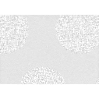 Dutch Wallcoverings Vliesbehang bol grijs/wit - 13502-30