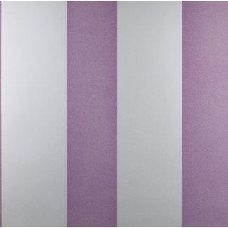 Dutch Wallcoverings Kissing Me Softly streep paars - 7243-6