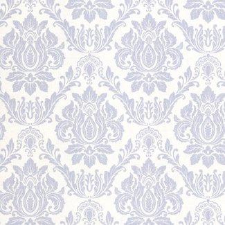 Dutch Wallcoverings Seasons damast wit/grijs - 02508-40