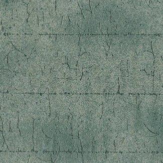 Dutch Wallcoverings Vlies uni/streep zwart glitter - 6175-40