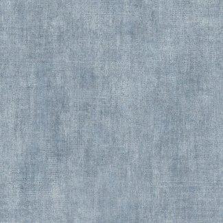Dutch Wallcoverings Vliesbehang uni blauw (92706) - L437-01