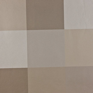 Dutch Wallcoverings Behang Karo blokken beige - 1121-0