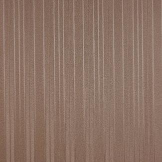 Dutch Wallcoverings Vlakvinyl streep bruin - 7483-4