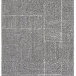 Vloerkleed Oslo grijs 160x230cm