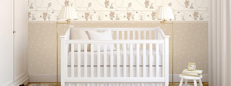Babykamer behang / babybehang