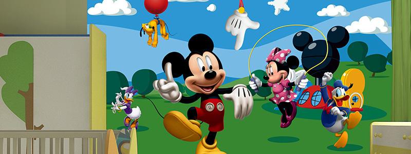 Fotobehang Mickey Mouse