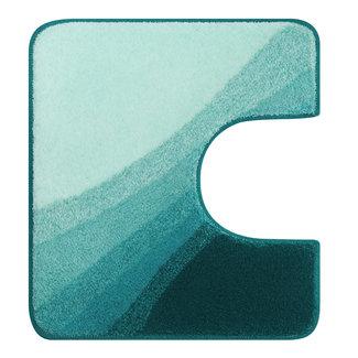 Kleine Wolke Toiletmat Malin Turquoise, 55x50cm