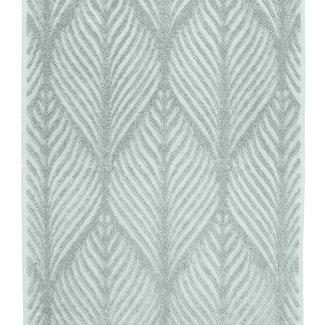 Kleine Wolke Badhanddoek Leaf Antraciet 50x100cm