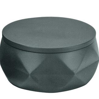Kleine Wolke Wattenpotje Crackle Jar Zwart