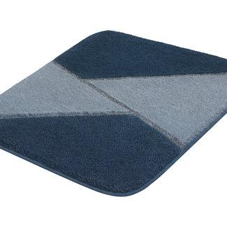 Kleine Wolke Badmat Hailey Blauw, div. afmetingen
