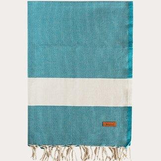 Sorema Agadir beach towel 90x180 cm Petrol