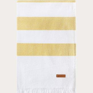Sorema Costa Nova beach towel 90x180 cm Mustard
