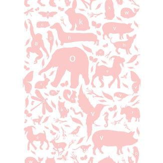 KEK animal alphabet roze 3d