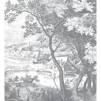 KEK Amsterdam Wallmural Engraved Landscapes - div.afm.
