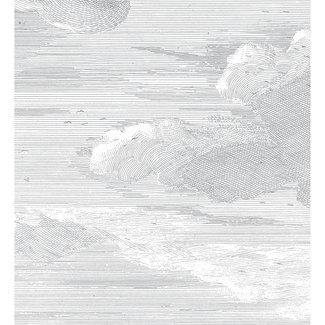 KEK Amsterdam Wallmural Engraved Clouds - div.afm.