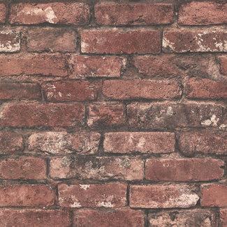Dutch Wallcoverings Trilogy Brickwork red  - 21258