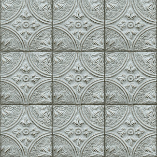 Dutch Wallcoverings Trilogy Tin ceiling blue  - 23765
