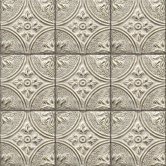 Dutch Wallcoverings Trilogy Tin ceiling gold  - 23764