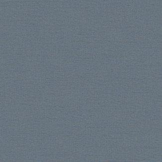 Dutch Wallcoverings Wall Fabric linen blue  - WF121062