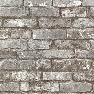 Dutch Wallcoverings Trilogy Brickwork taupe  - 21259