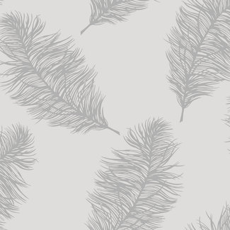 Dutch Wallcoverings Indulgence Feather grey/silver - 12626