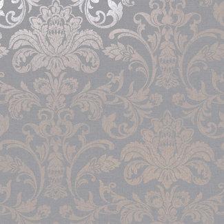 Dutch Wallcoverings Indulgence Damask grey/rose gold - 12712