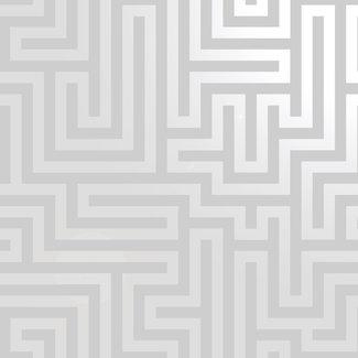 Dutch Wallcoverings Indulgence Maze grey - 12910