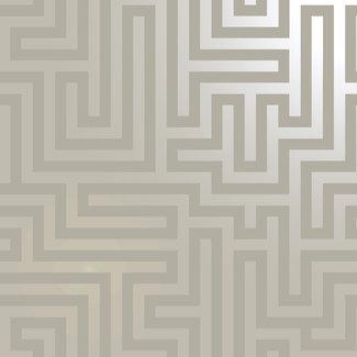 Dutch Wallcoverings Indulgence Maze taupe - 12911