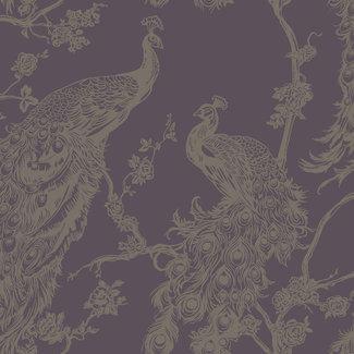 Dutch Wallcoverings Indulgence Peacock purple - 12961