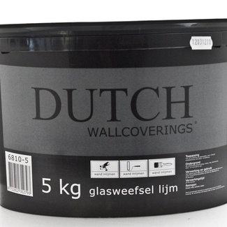 Dutch Wallcoverings Dutch Wallcoverings glasweefsellijm 5kg kant en klaar