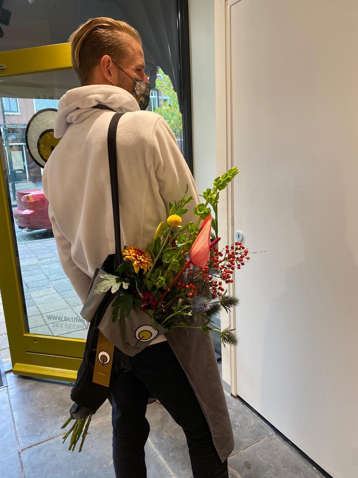 Bloemen draagtas