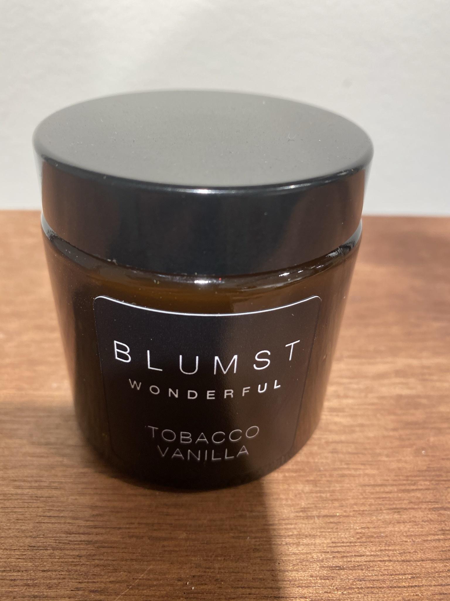 Kaars 120ml Tobacco & vanilla